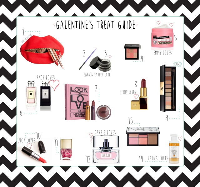 Galentine's Treat Guide 2015